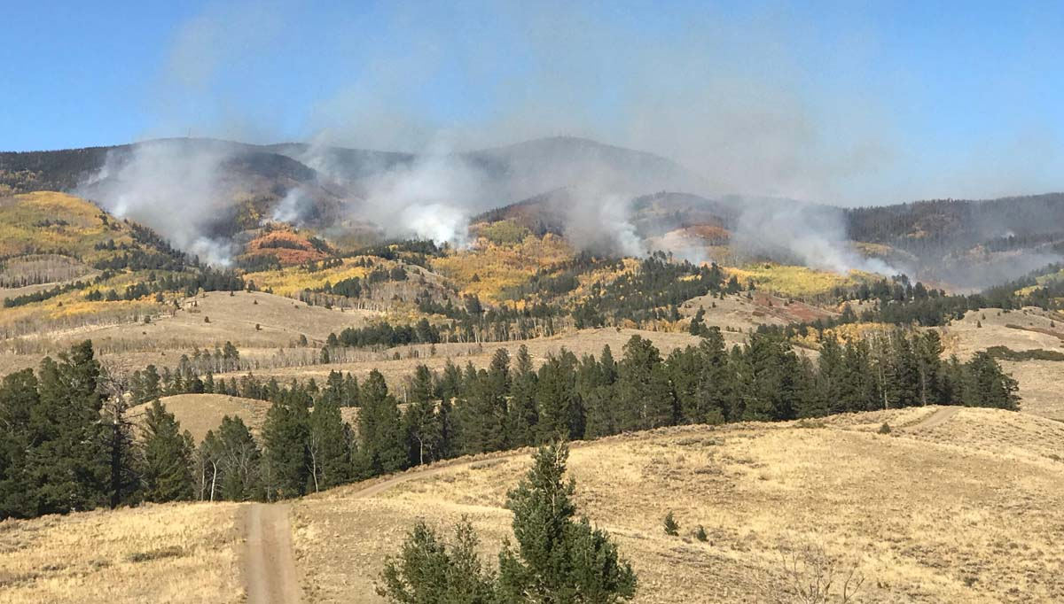 Firefighters to conduct aerial ignition operation on the Decker Fire