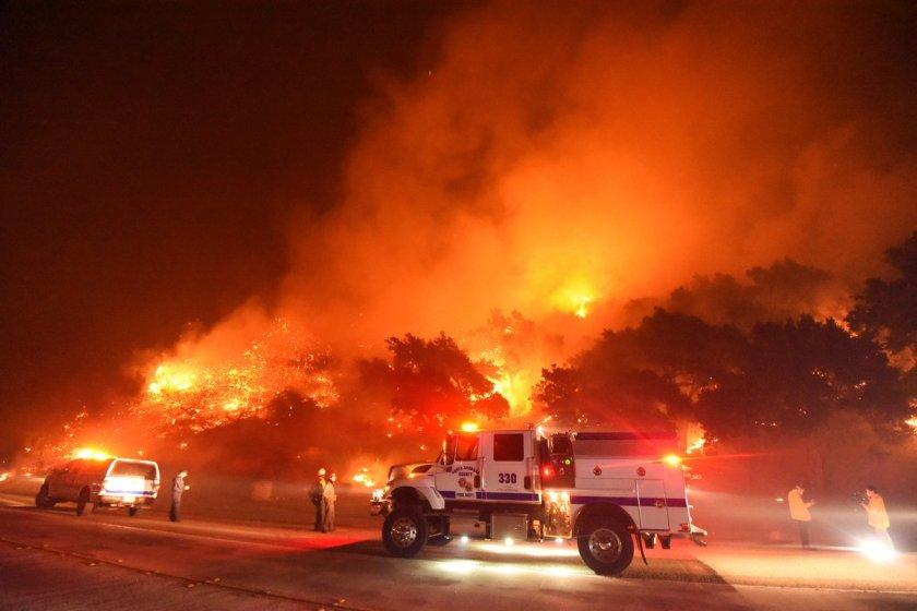 Cave Fire November 25, 2019