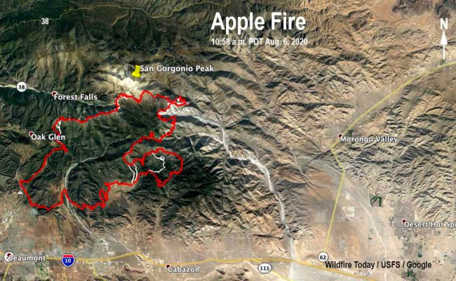 Additional Evacuation Warnings Issued For Apple Fire