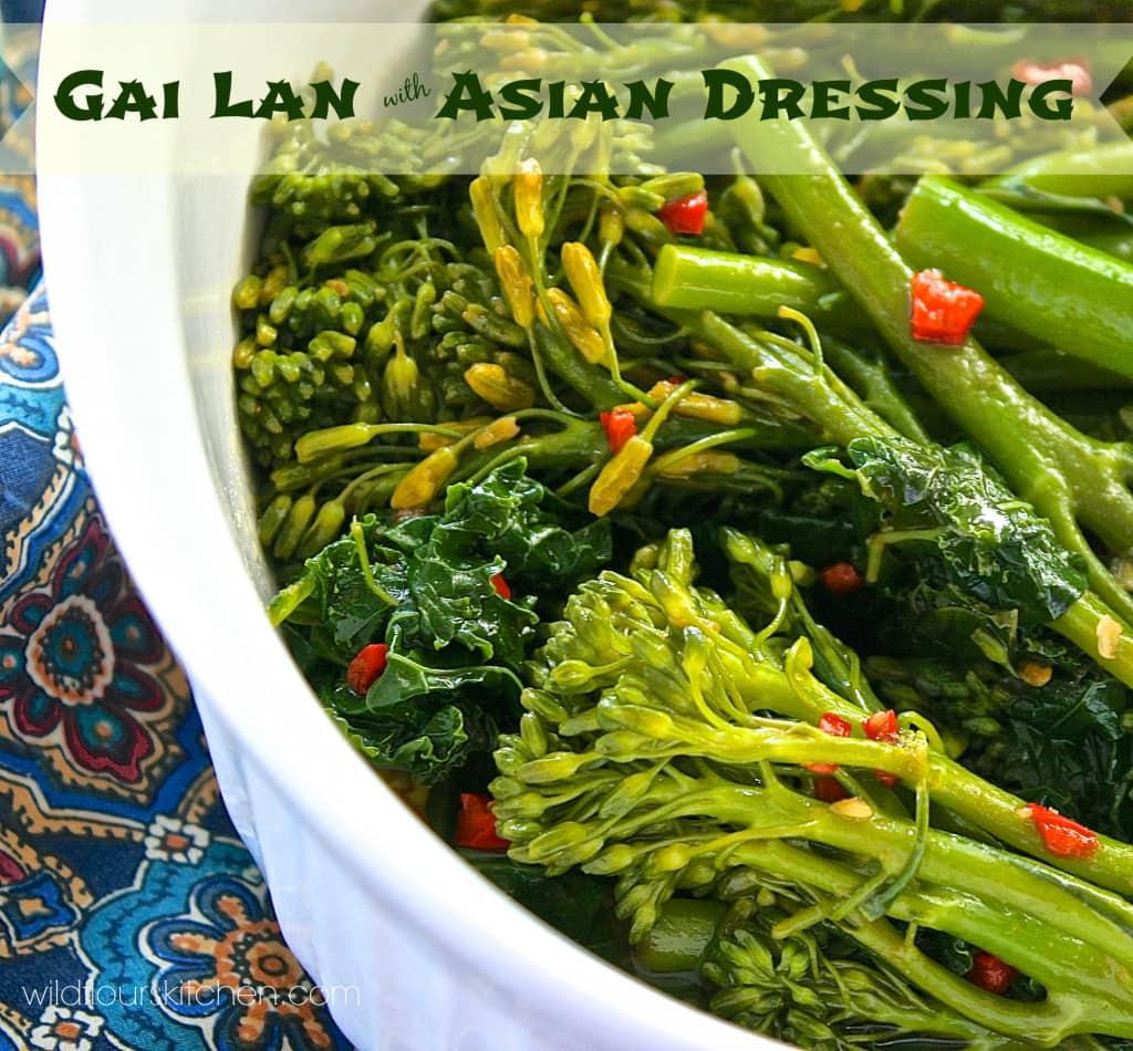 Mongolian Beef and Gai Lan  The Secret Recipe Club