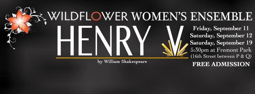 Henry V, Free Shakespeare in the Park