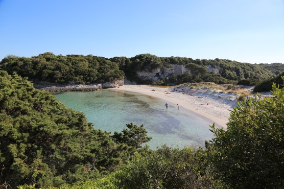 Hidden beach in Sperone