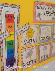 Dsc also our weather chart for tot school wildflower ramblings rh wildflowerramblings