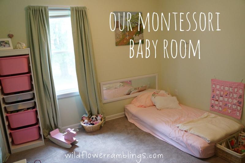 our montessori baby room {& peter rabbit nursery} - wildflower