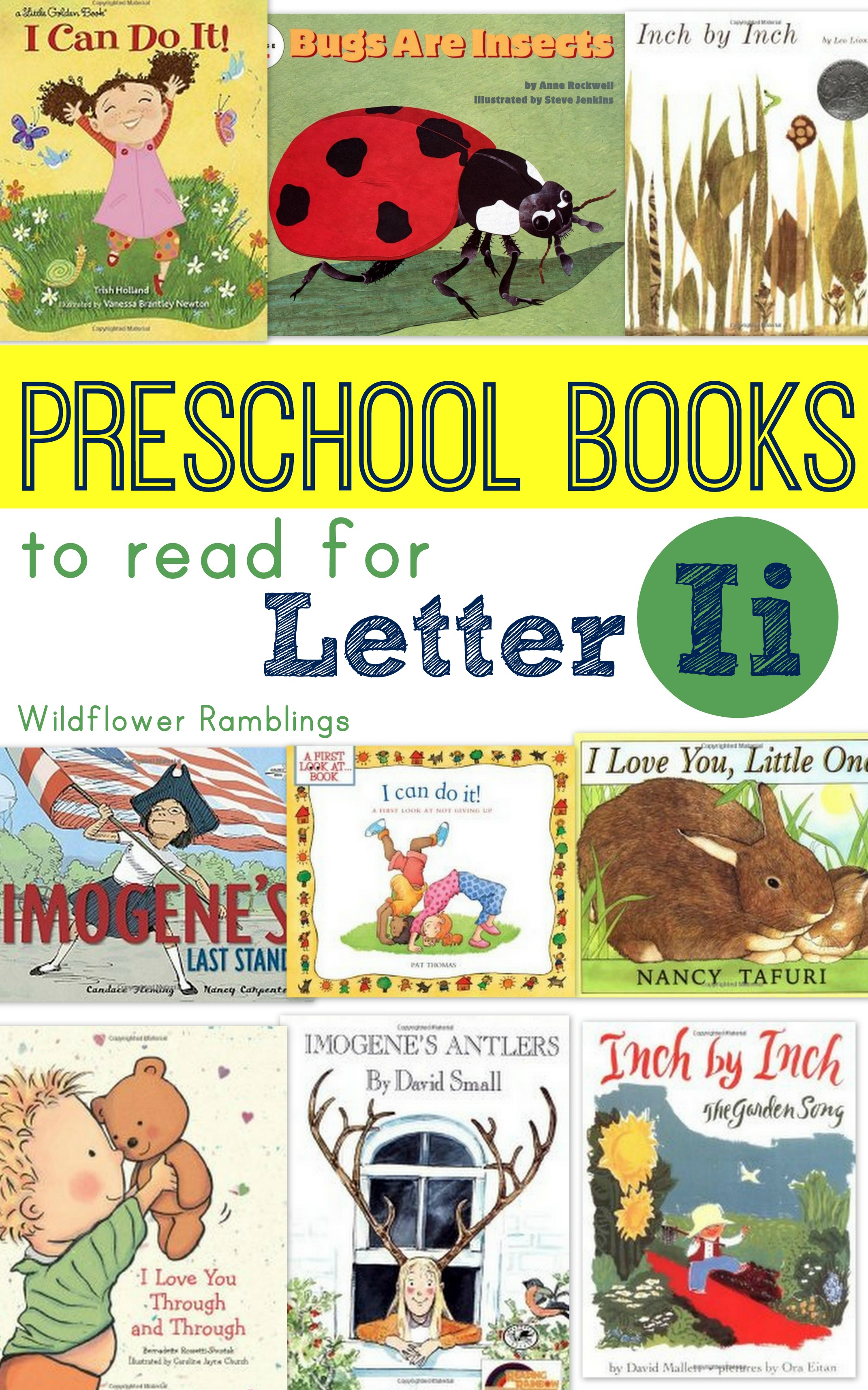 Preschool Books For Letter I
