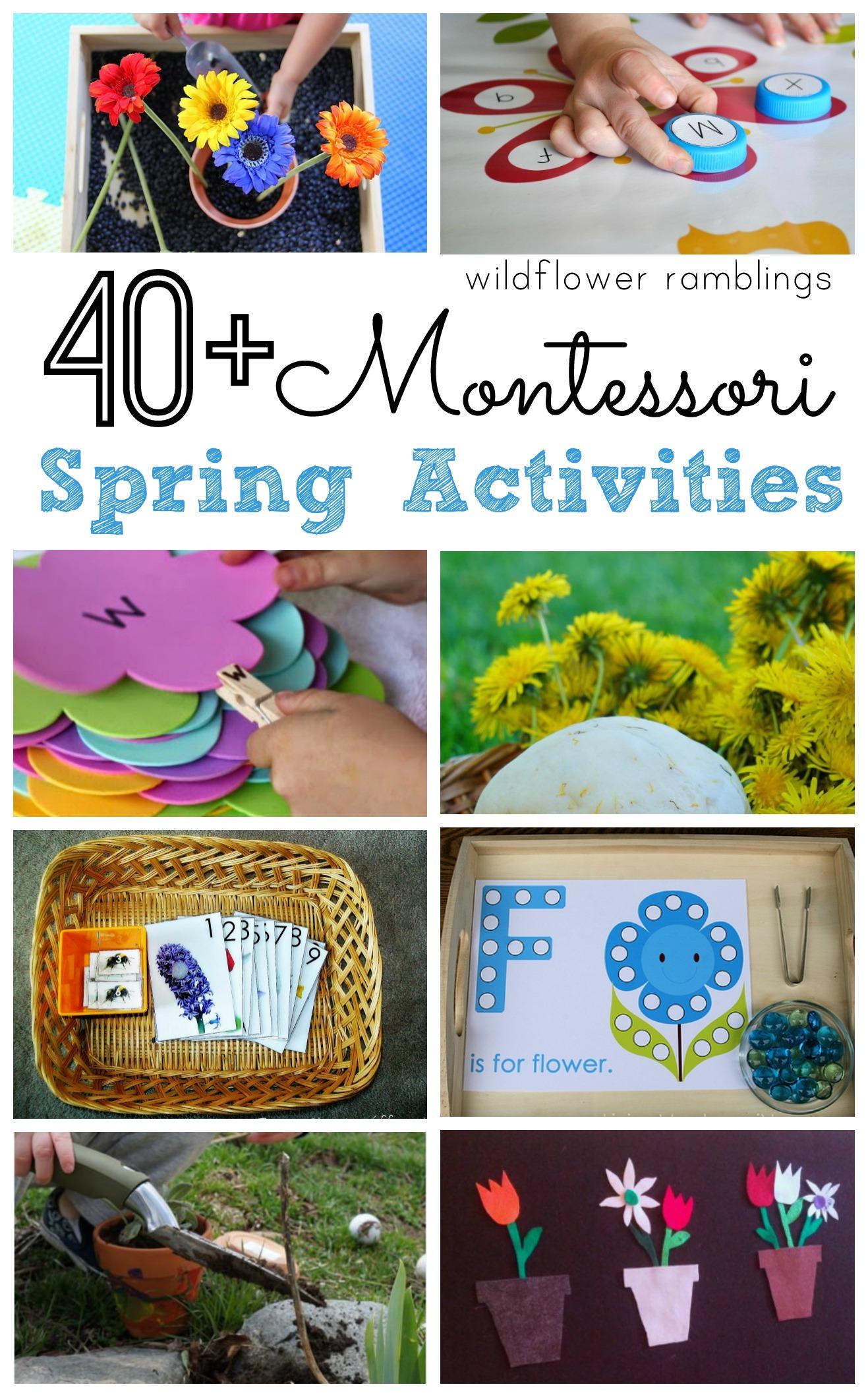 Montessori Spring Activities