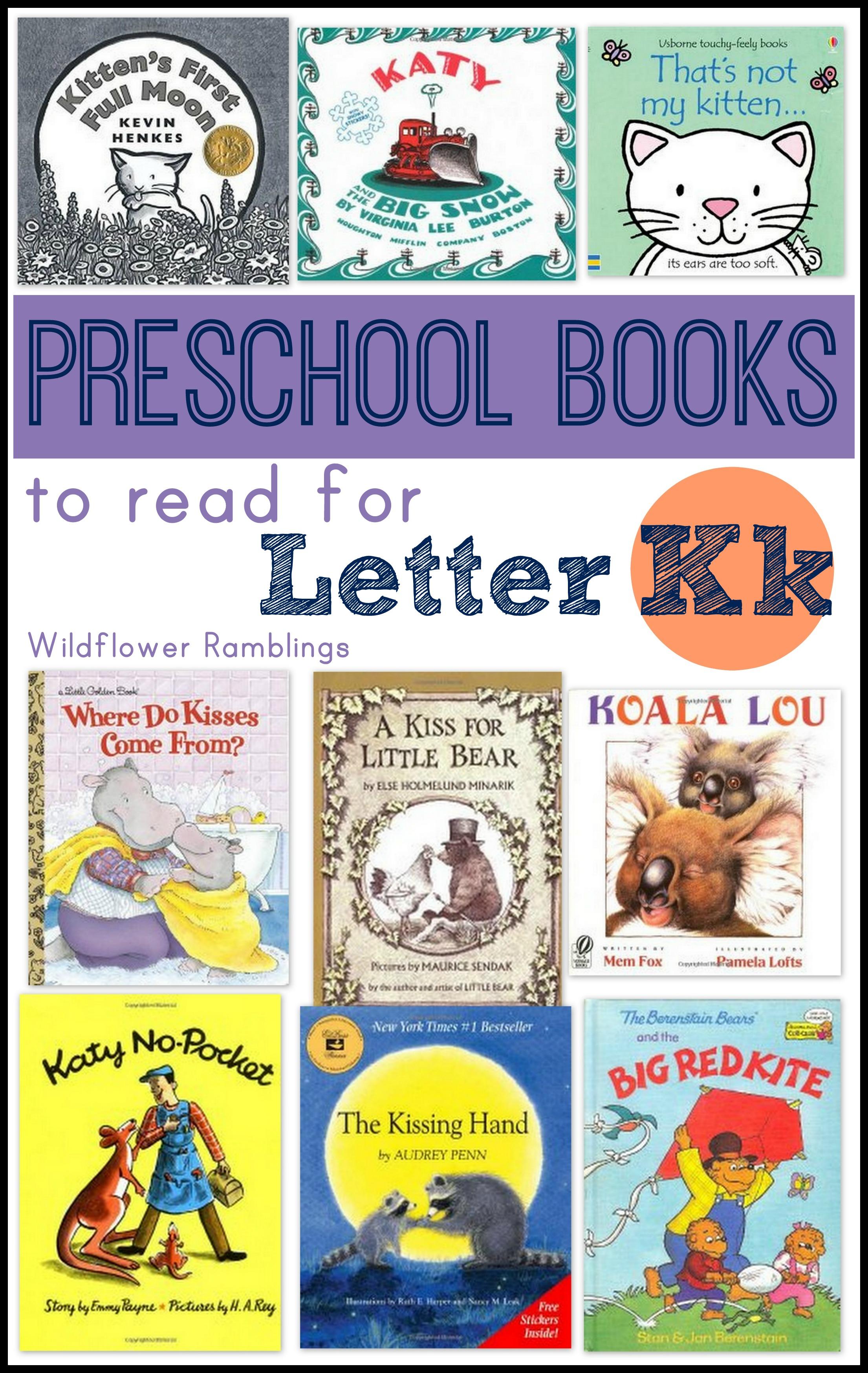 Preschool Books For Letter K