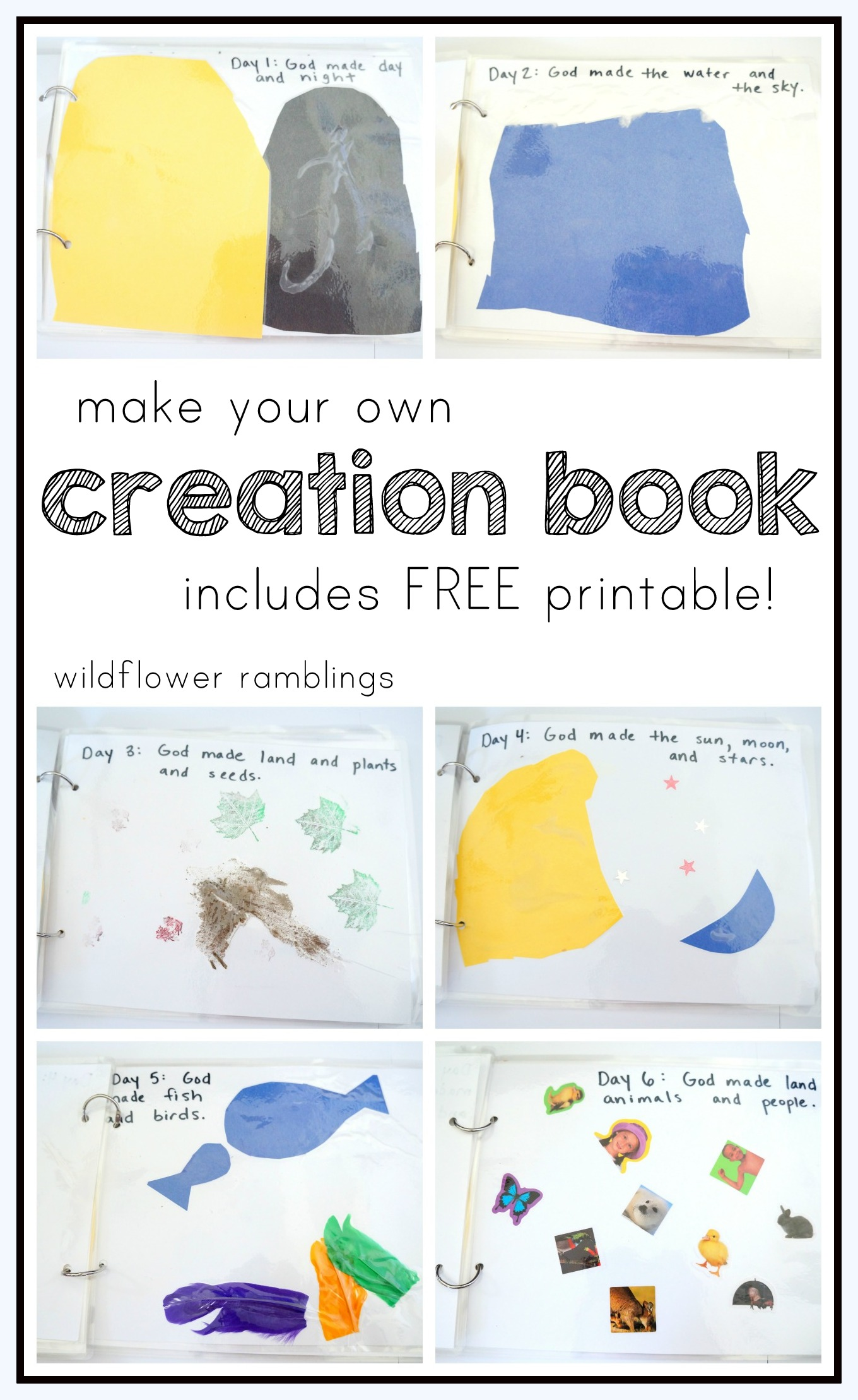 Make Your Own Creation Book Free Printable