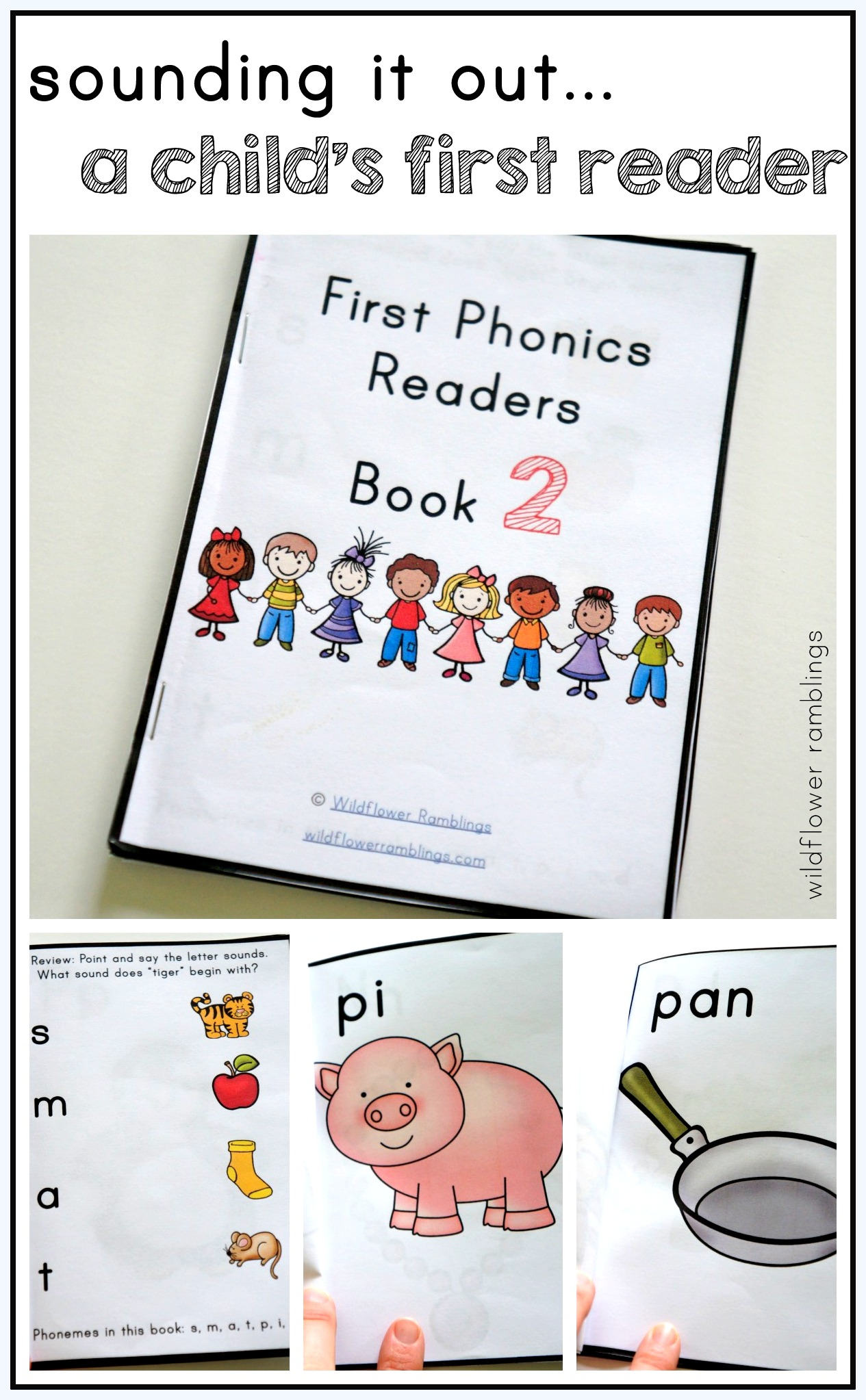 First Phonics Readers Book 2