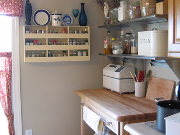 Attic Clutter to Useful Spice-Rack