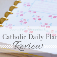 The Catholic Daily Planner - A Review
