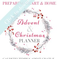 Advent & Christmas Planner 2018 | 2019