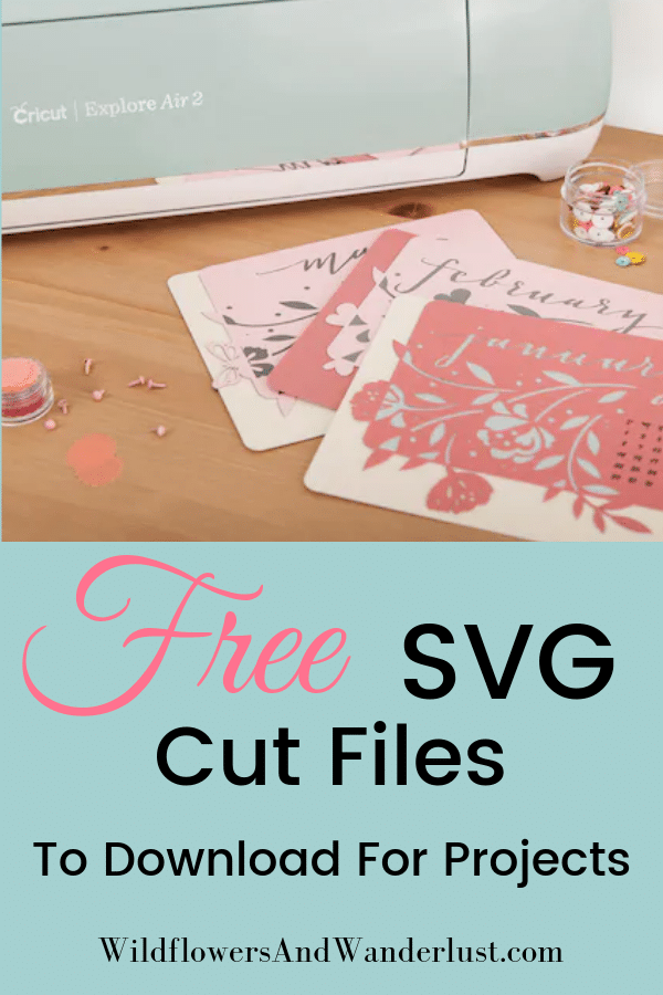 Download Free SVG Files and Where to Find Them - Wildflowers and ...