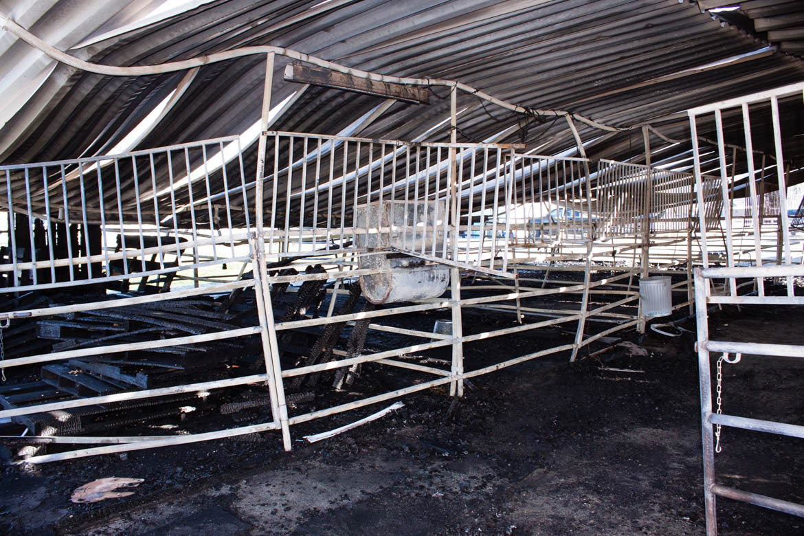 Post Stable Barn Fire Pictures