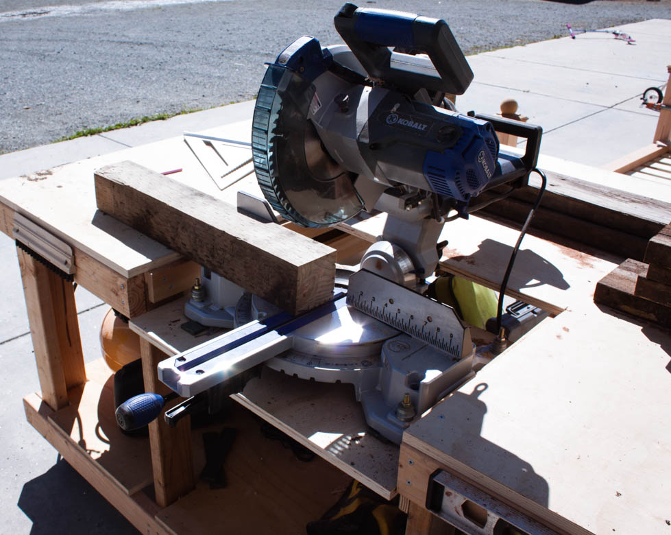 raised flower bed table saw