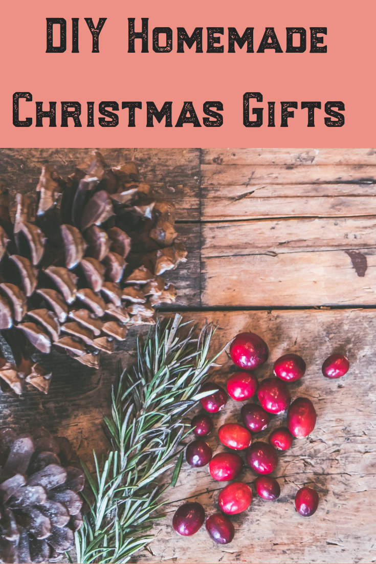 Looking for the perfect gift this Christmas and holiday season? Why not give your family and friends a quick and easy homemade treat? From food to plants, these ideas are perfect for everyone on your list, including coworkers and in-laws! #holiday #homemade #Christmas #gifts #diy #food #plants #grow #family #friends
