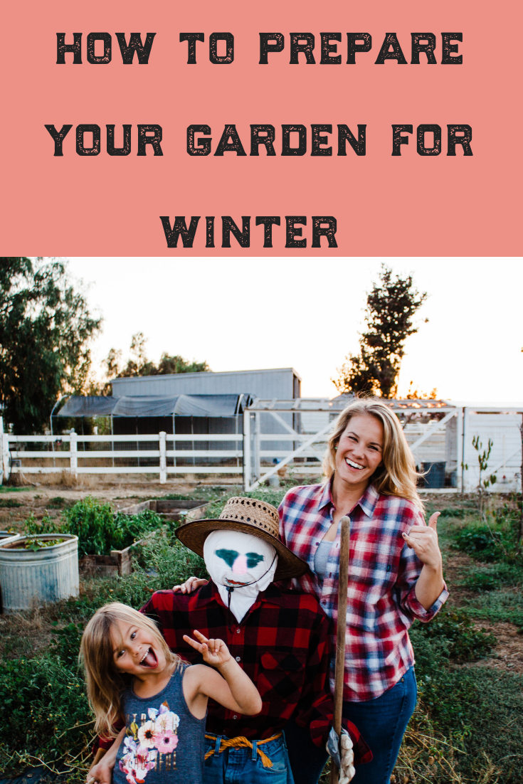 Looking for tips to prepare your garden for the cold weather of winter? Check out these ideas to use in the fall to prep your soil and plants for spring! From mulching, composting and planting bulbs, this article has you covered! #prepare #winter #garden #gardening #soil #tips #ideas #gardener #coldweather #bulbs #compost #mulch