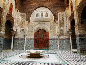 Bou Inania Medersa, Fez, Morocco