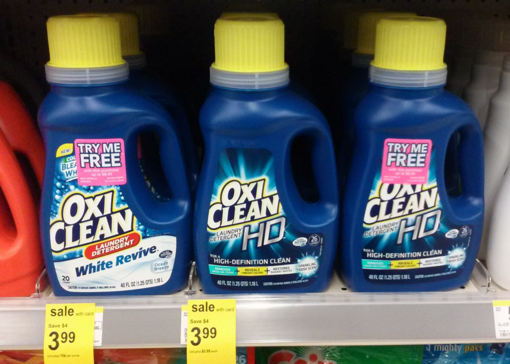 Oxiclean 20 Or 26 Loads Just 1 46 At Walgreens