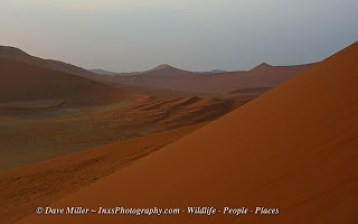 Sand Dunes of Sossusviei in Namibia