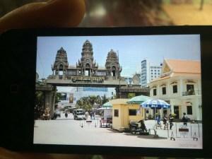 The real Cambodia boarder