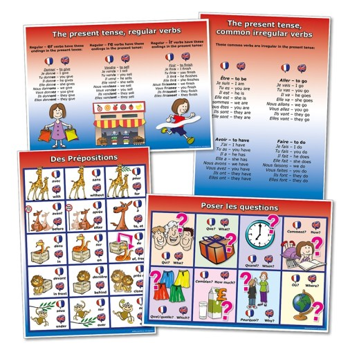 French Grammar posters http://www.wildgoose.ac/French_Grammar_Posters_p/fr0056.htm
