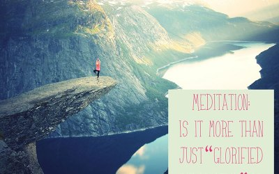 Meditation- Is it just glorified relaxation?
