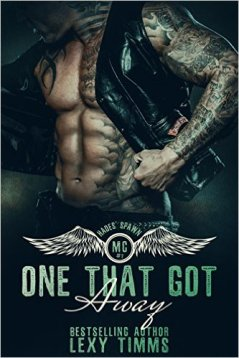One That Got Away: Motorcycle Club Romance (Hades' Spawn Motorcycle Club Series Book 2) by Lexy Timms - Release Date: Sept. 11th, 2015