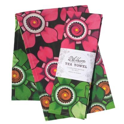 tea towel and single pack