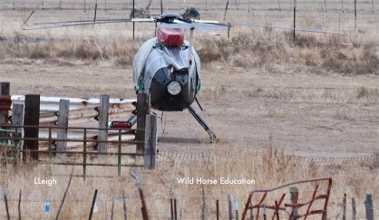 Chopper at arrival