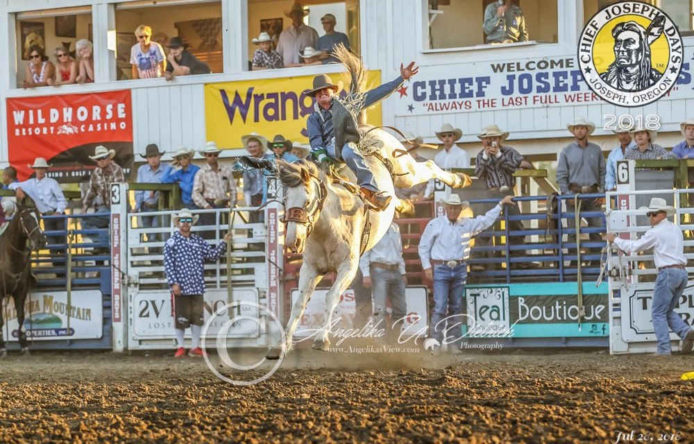 2018 Chief Joseph Days Rodeo PRCA Final Results