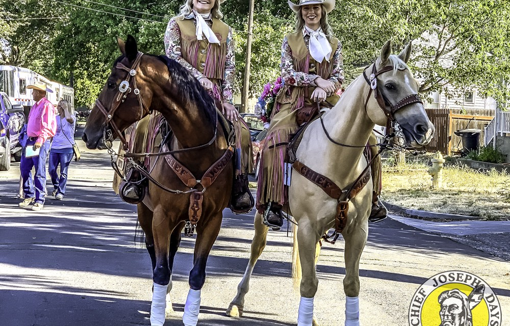 On the road with Chief Joseph Days at the Walla Walla Frontier Days Parade (2019)