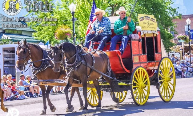 Celebrating 75 Years of Chief Joseph Days in 2021 with CJD's Stage Coach from 2004