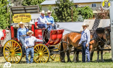 Up Close and Personal with Chief Joseph Days Stage Coach (2018)