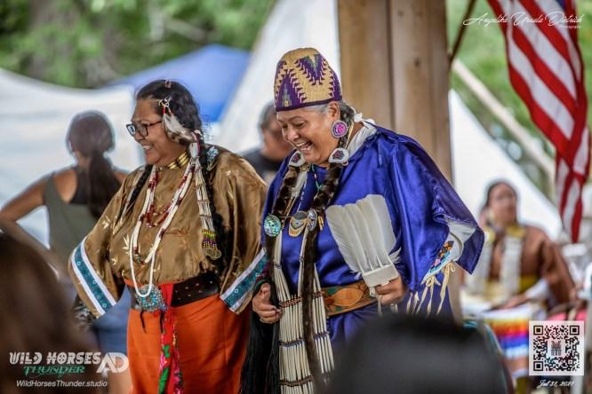 The Return of the Nez Perce Encampment Pavilion during Chief Joseph Days