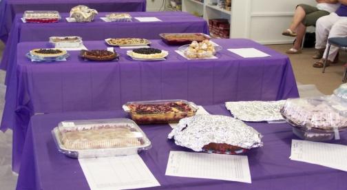 Huckleberry Dessert Contest