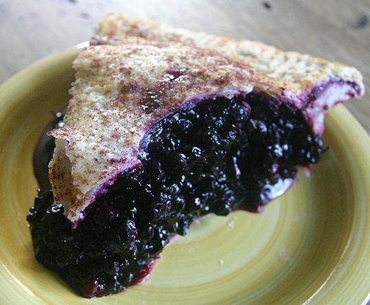 Huckleberry Pie Recipe