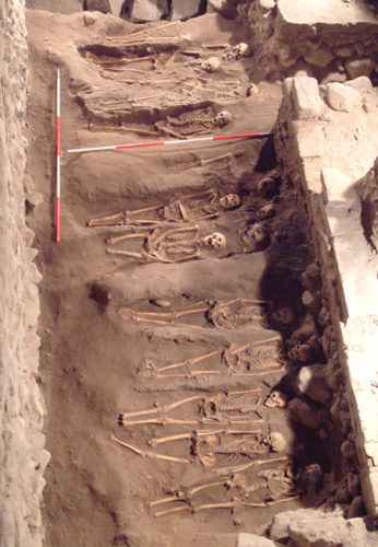 Burials at Mither Kirk [Courtesy Dr. Winfield]