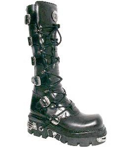New Rock Boots 272 Itali Negro y Nomada Negro Reactor Negro Toberas E14