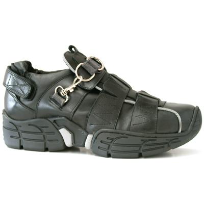 New Rock Boots 3105 Nomada Negro Itali Negro Ribete Reflectante Crash Negro Per