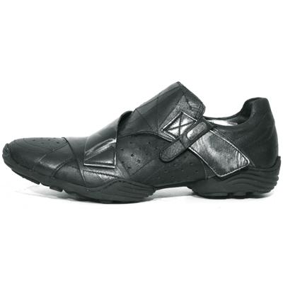 New Rock Boots 8133 Venas Negro Cheyenne Negro Box Plane
