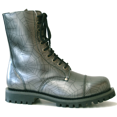 New Rock Boots Mili 1 Araña Acero Good Year Welt