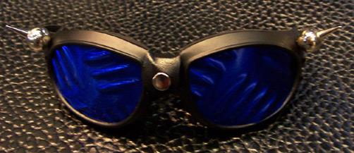 Bulb Spike Goggles w/plate lenses