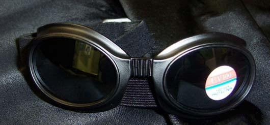 Small Black Frame Goggles