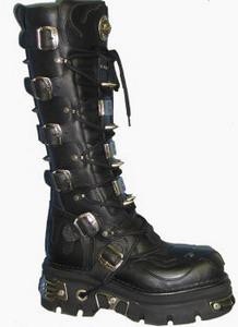 New Rock Boots 161-S1 Reactor Negro Toberas E14 C-Y-O, Itali y Nomada Negro