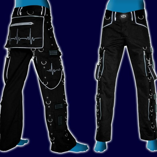Pulse Pants Black+Grey+Reflective