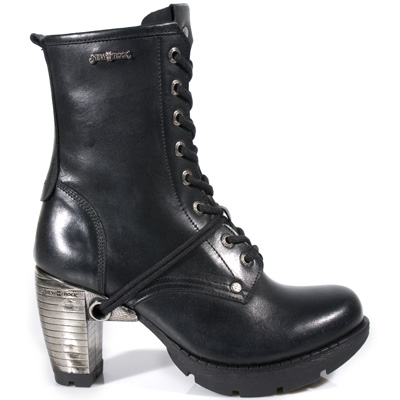 New Rock Boots M.TR001 ITALI NEGRO, TRAIL NEGRO TACON ACERO