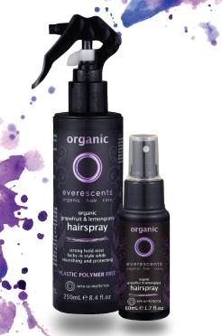 Everescents Organic Grapefruit and Lemon Grass Hairspray 50ml