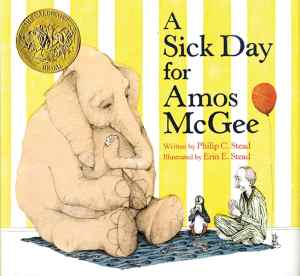 a sick day for amos mcgee - books that teach kindness and compassion