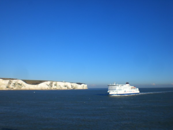 Good Bye England, The white Cliffs of Dover